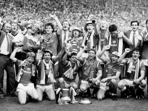 Wembley, Everton '85