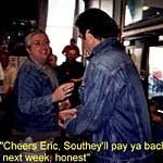 Eric Cantona in pub
