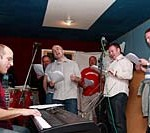 United We Sing 7 being sang in the studio