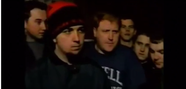 Pete Defending Eric in 1995