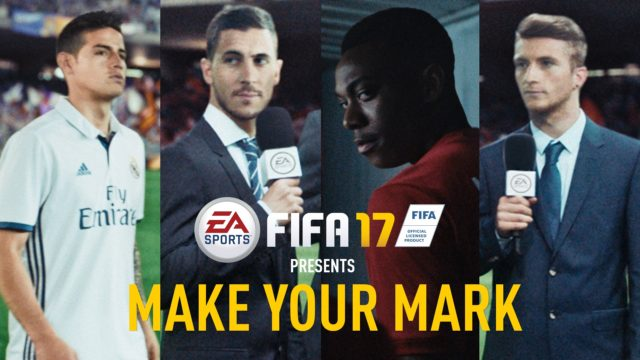 FIFA 17 Advert with Song/Chant I Wrote