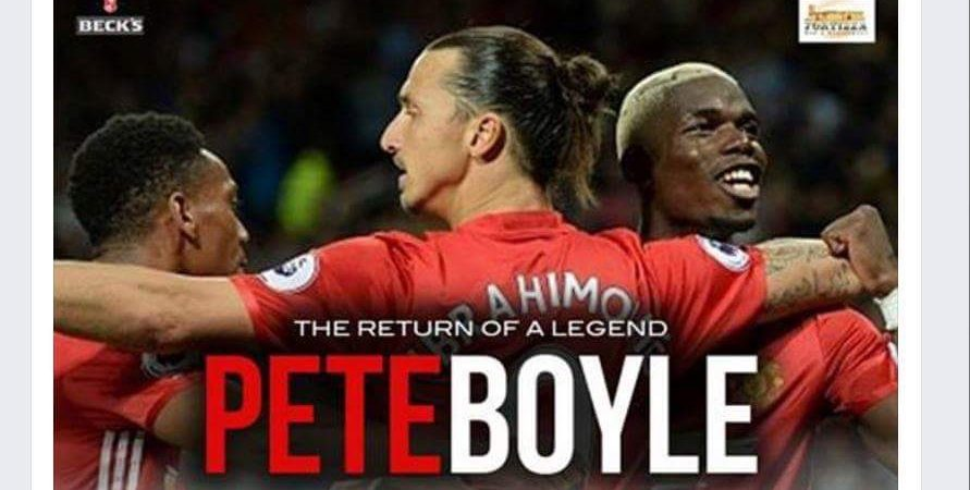 Pete Boyle To Visit Malta