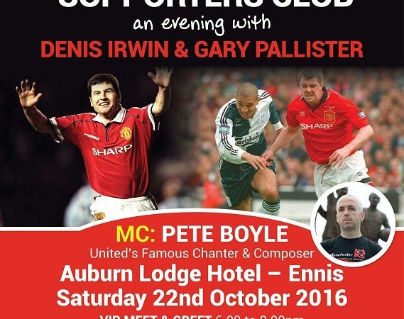 Night with Denis Irwin & Gary Pallister